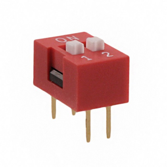 DIP Dial Toggle Switch  SW 2P