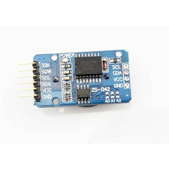 Extremely Accurate RTC Module ( On-board DS3231 I2C real-time clock chip, 24C32 32K I2C EEPROM memory)