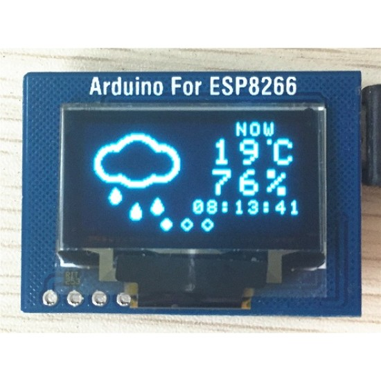 ESP8266-12F ESP-12 Serial WIFI Module with OLED Screen Developement Board