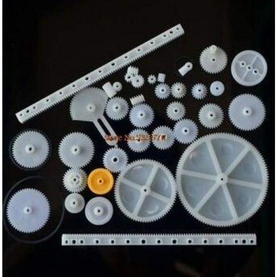 DIY Plastic Gear Set for Hobby and Robotics Builder