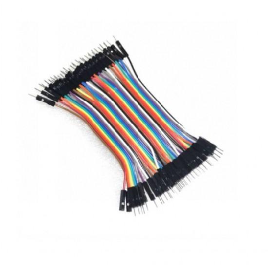 Breadboard Jumper Wire for Arduino Male-Male M-M MM (10cm)