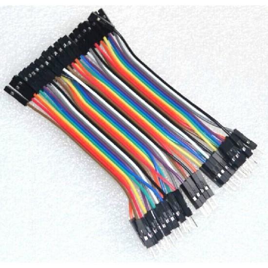 Breadboard Jumper Wire for Arduino Male-Female M-F MF (10cm)
