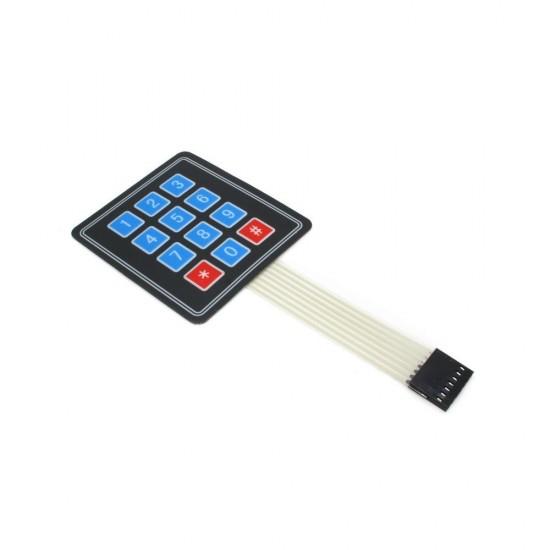 Keypad 4x3 Mebrane