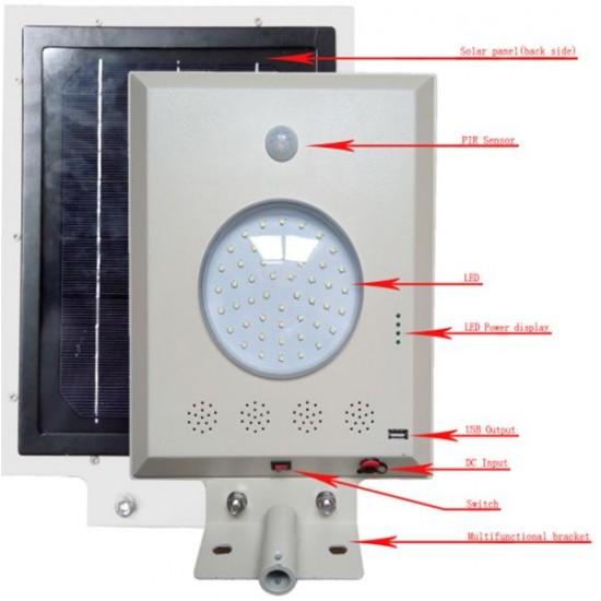 LED Integrated Solar Street Light  LS-205-5W