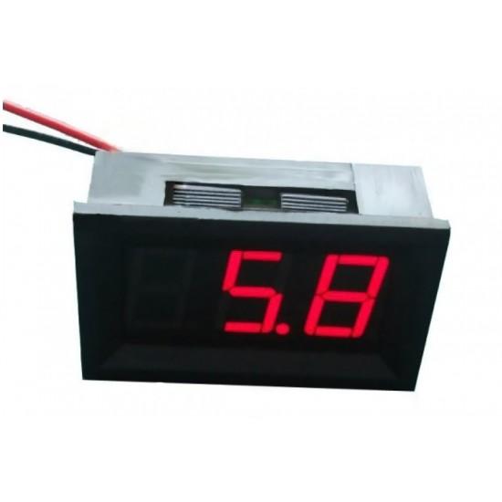 Digital Panel Meter 4.5-30Vdc