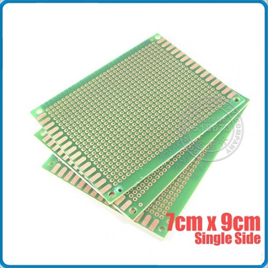 Perforated holes PCB 9x7CM fiber tinplated universal circuit test soldering board
