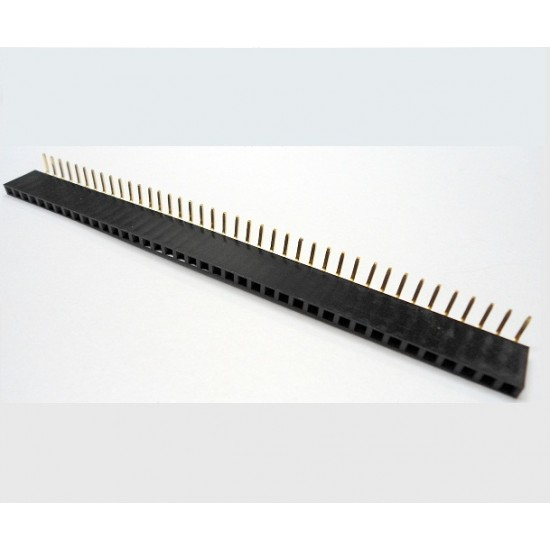 Pin Header Female 1x40 Right Angle 2.54mm