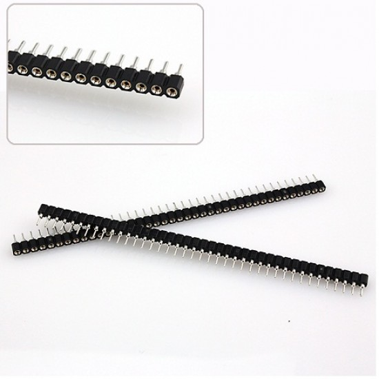 IC Strips 1x40 Straight 2.54mm