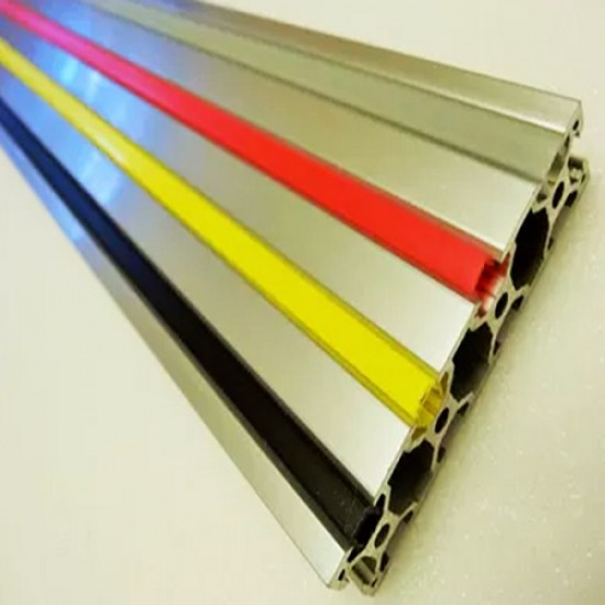 9mm Solid Plastic cover Decorative strip for Aluminum Profile 3030 slot   - Yellow and Blue Colors 2 meter