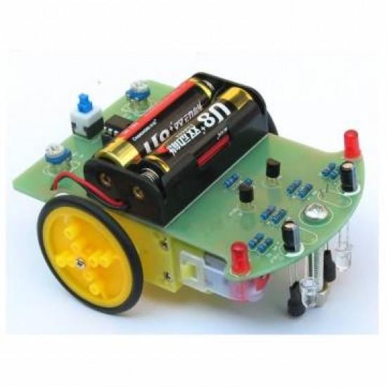 Line Tracking Follower Robot Car Electronic DIY Kit