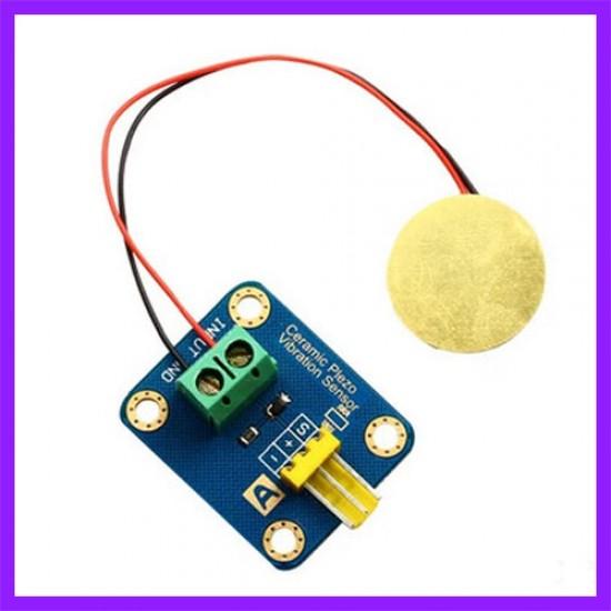 Analog Piezo Disk Vibration Sensor Module