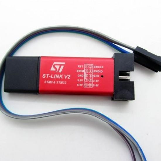 ST Link V2 SWD JTAG ARM Programmer For STM8 STM32 ST-Link