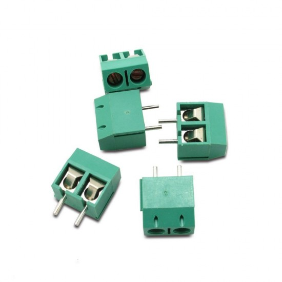 2P SCREW TERMINAL BLOCK 2 POLE 5.0MM
