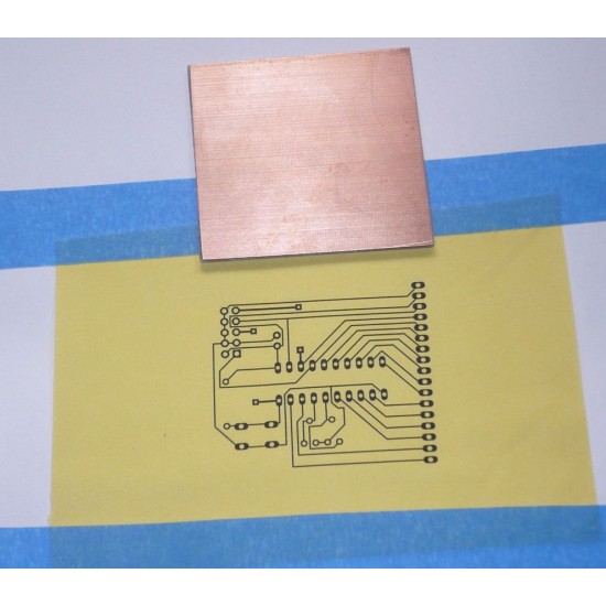 PCB circuit board thermal transfer Heat Toner Yellow paper size A4 (PCB DIY)