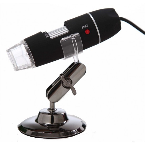 USB Digital Microscope 1000X with 2MP Video and HD color CMOS sensor