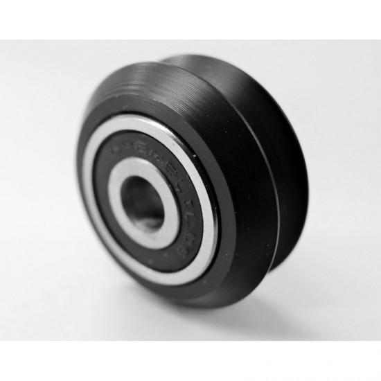 3D printer and CNC accessories parts  Rubber Delrin V wheel