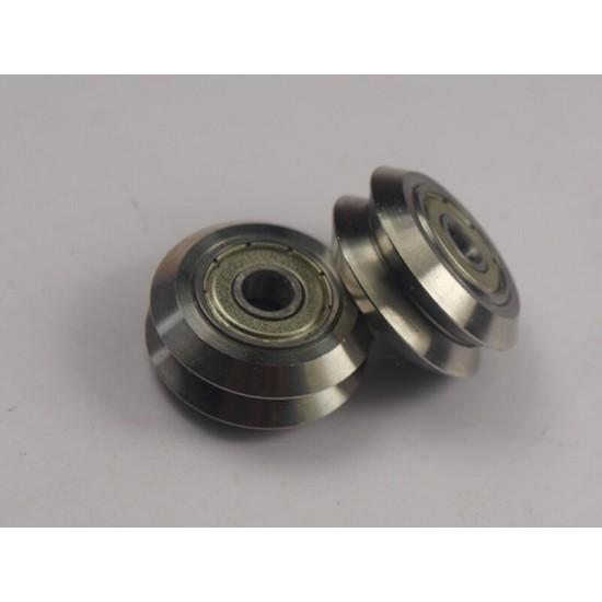 3D printer and CNC accessories parts metal Dual V-wheel