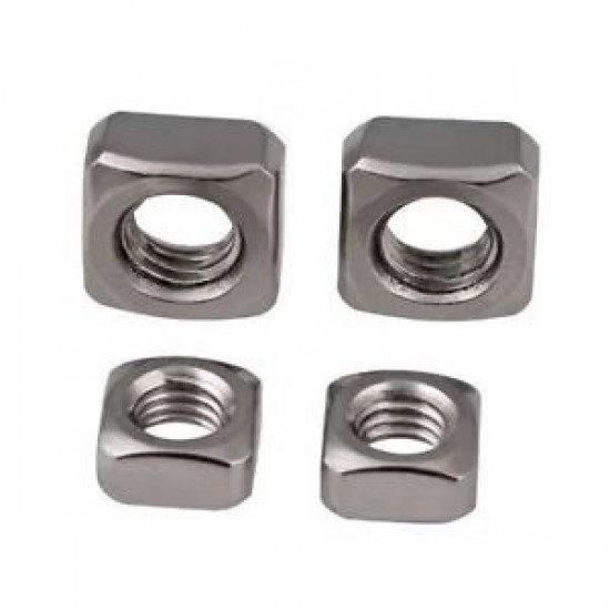 M6 Stainless Steel Square Nuts for 40 Series Aluminum Profile