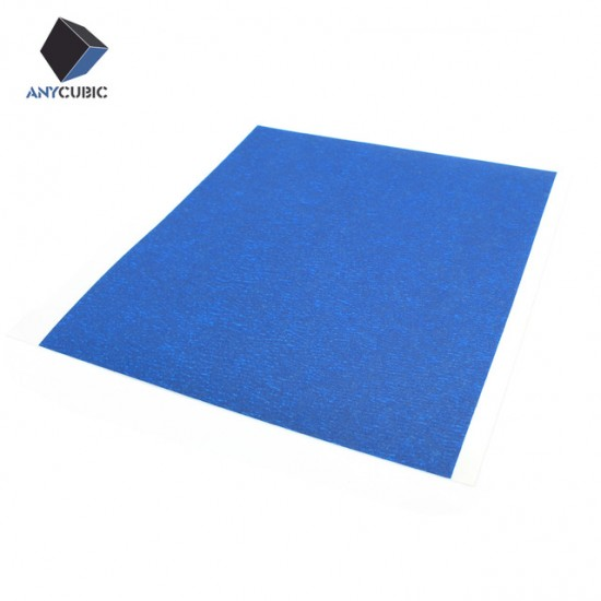 3D Printer Heated Bed High Temperature Resistant Self-Adhesive Tape 210x210mm | Blue Tape