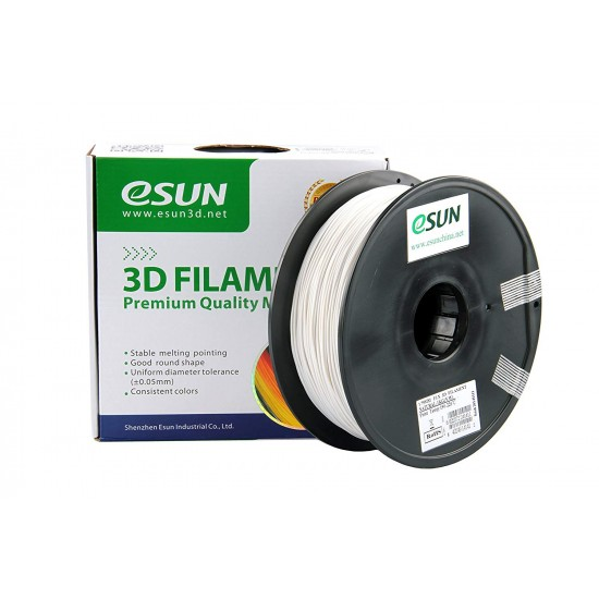 eSUN 3D ABS 1.75mm - White Color