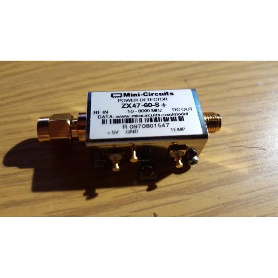 mini circuits ZX47-60-S plus RF POWER DETECTOR