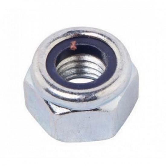 Self Locking  Stainless Steel Nylon Insert Hex Lock Nut Size M5
