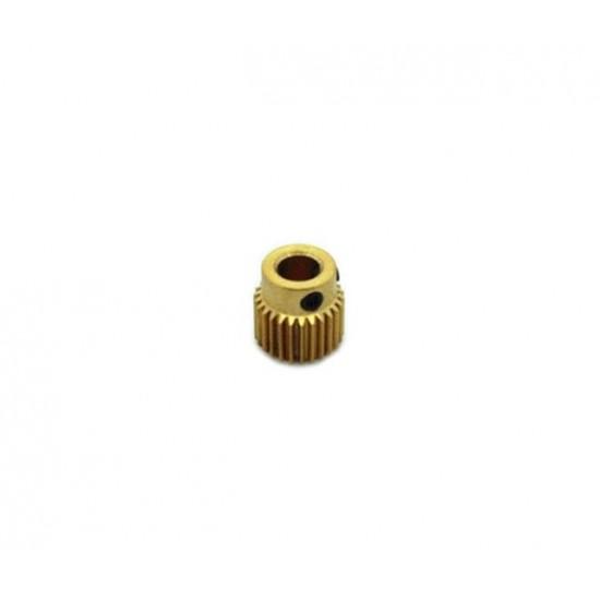 3D printer MK7 MK8 Extruder Gear 26 teeth Brass Driver Gear planet Reducer Extruder feeding Gear wheel