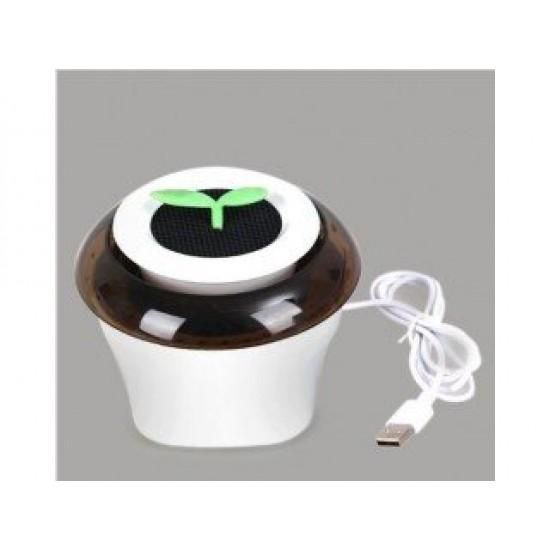 Portable USB Car Air Purifier Fresh Oxygen Bar Ionizer