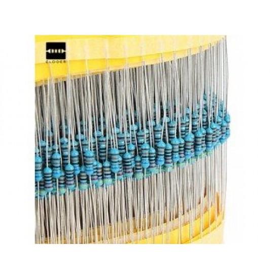 400Pcs 20 Kinds Each Value Metal Film Resistor pack 1/4W resistor assorted Kit Set