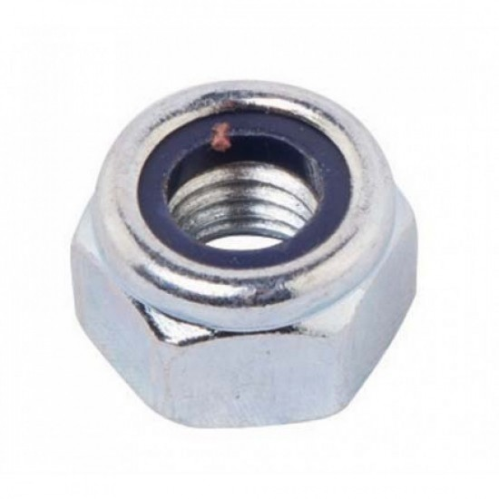 Stainless Steel Nylon Insert Hex Lock Nut Size M5