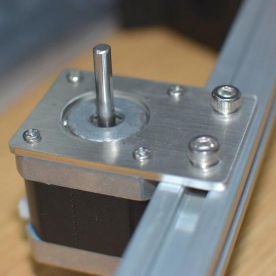 NEMA 17 Stepper Motor Mounting Plate Fixing Bracket For Reprap D-bot core-XY 3D Printer CNC Parts 2020 Profiles