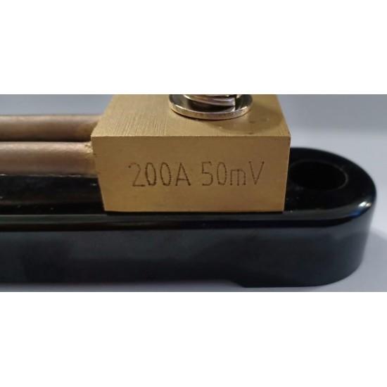 SHUNT RESISTOR 200A/50mV