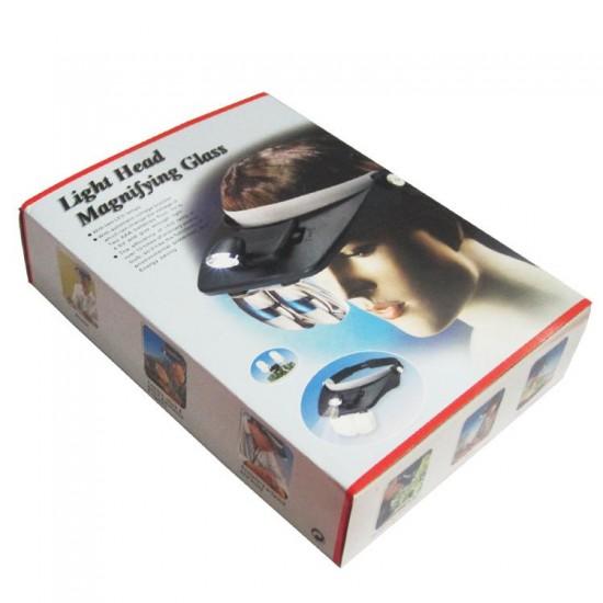 Light Head Magnifying Glass For Eyelash Extension