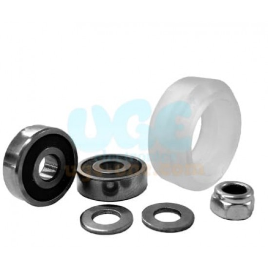 Clear Polycarbonate Xtreme Solid V Wheel Kit  For Openbuilds V Slot Linear Rail System,OX CNC,C Beam