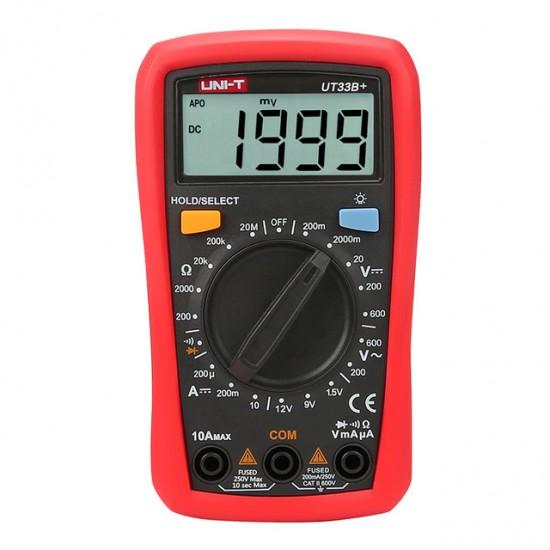 Digital Multimeter UNI-T UT-33B plus (UT33B plus)
