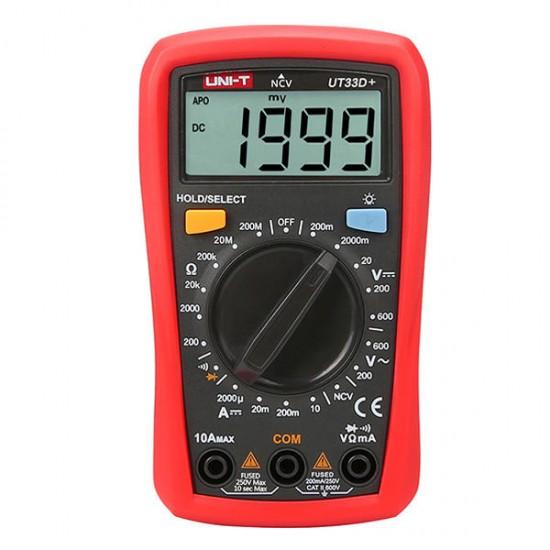 Digital Multimeter UNI-T UT-33D plus (UT33D plus )